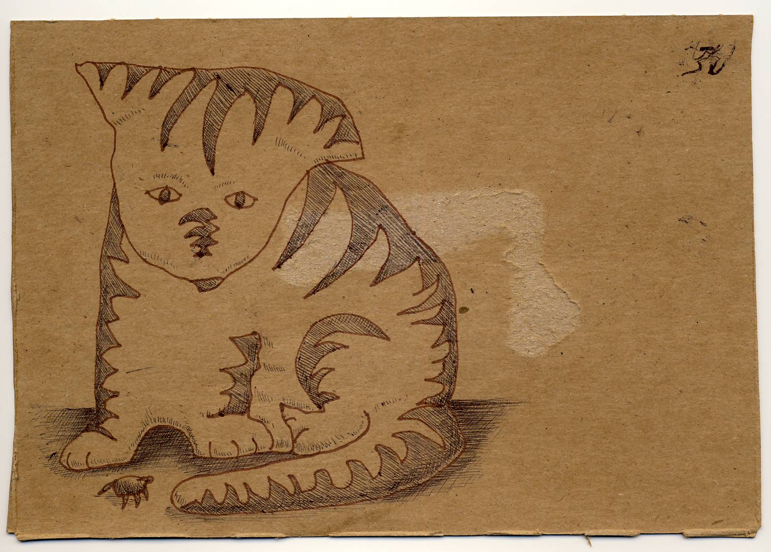 Postcard June Cat S Eye